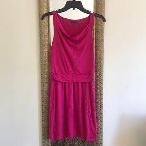 Theory gorgeous fuchsia mini dress